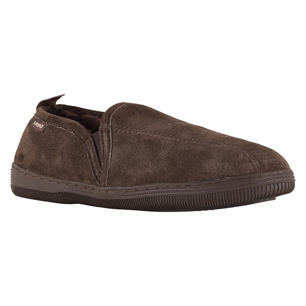 ca04de9b48ce86 Lamo Sheepskin Men s Romeo Chocolate Slipper