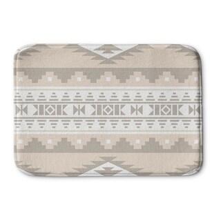 Kavka Designs Tan Cherokee Memory Foam Bath Mat