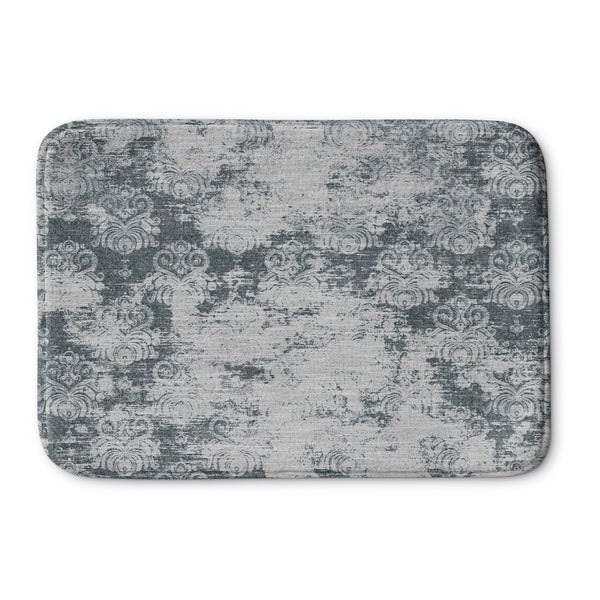 Kavka Designs Grey Milano Memory Foam Bath Mat