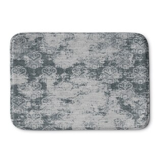 Kavka Designs Grey Milano Memory Foam Bath Mat