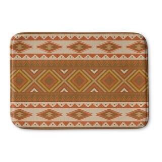 Kavka Designs Brown/Gold/Tan Sedona Memory Foam Bath Mat