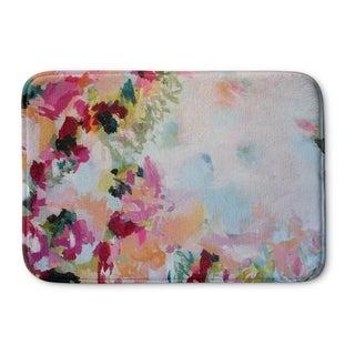 Kavka Designs Pink/Blue/Green/Purple/Red/Peach Perusian Panache Memory Foam Bath Mat