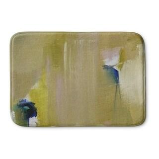 Kavka Designs Green/Blue/Gold Hot Messes Memory Foam Bath Mat