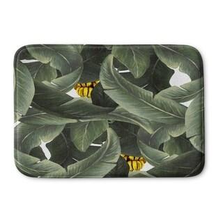 Kavka Designs Green Tropical Dreams Memory Foam Bath Mat (2 options available)