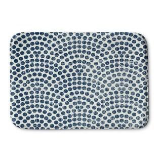 Kavka Designs Blue Sunrise Memory Foam Bath Mat (2 options available)