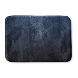 Kavka Designs Blue Blue Shade Memory Foam Bath Mat