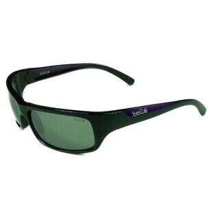 Bolle Sport Men's Fierce 11939 Shiny Black/Purple w/ Nonpolarized TNS Gun Lens Sunglasses