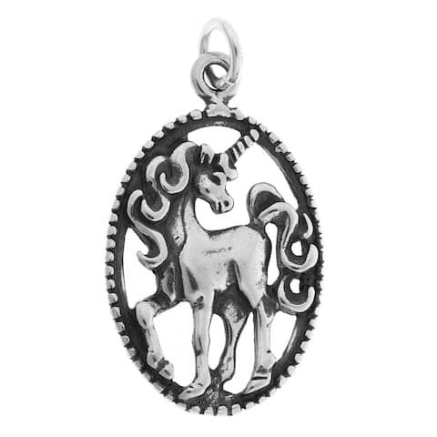 Sterling Silver Unicorn Charm