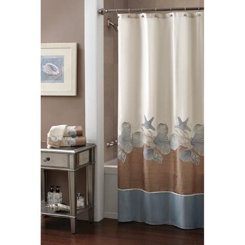 "Shells Ashore Shower Curtain (70"" x 72"")"