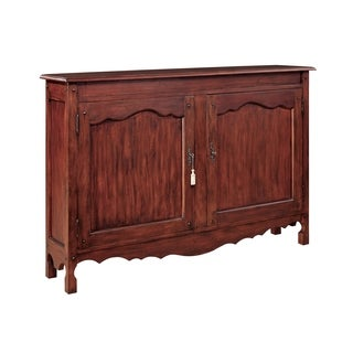 Montgomery Stained Pine Hall Cabinet