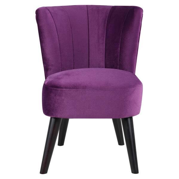 Enjoyable Shop Traditional Living Room Accent Chair In Classic Velvet Uwap Interior Chair Design Uwaporg