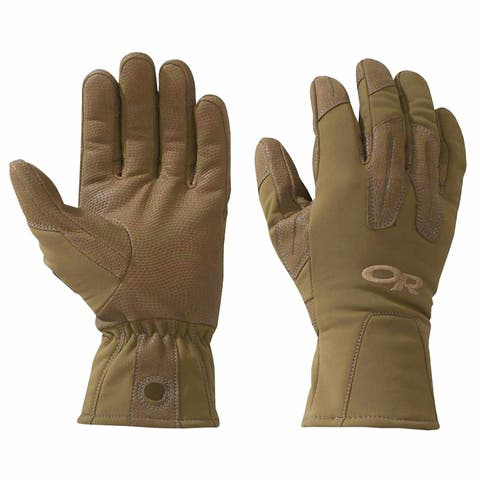 Outdoor Research Men's Paradigm Gloves Coyote Small