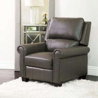 Abbyson Whitley Pushback Leather Recliner & Abbyson Recliner Chairs u0026 Rocking Recliners - Shop The Best Deals ... islam-shia.org