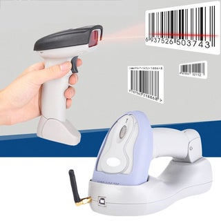 High Quality Cradle Wireless Barcode Scanner BlueTooth + USB Cable (As Is Item)