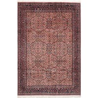 eCarpetGallery Hand-Knotted Royal Sarough Brown  Wool Rug (6'5 x 9'9)