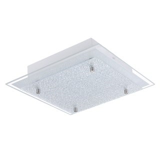 Eglo Priola LED Integrated Ceiling Light with Matte Nickel Finish