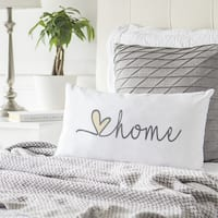 Love Home Lumbar Throw Pillow