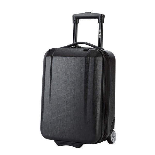 dd8e3a978 Kensie 17-inch Hardside Underseater Rolling Carry On Upright Suitcase