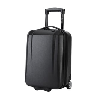 Kensie 17-inch Hardside Underseater Rolling Carry On Upright Suitcase