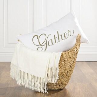 Gather Lumbar Pillow