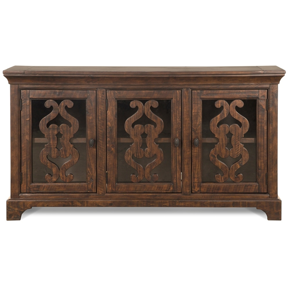 Magnussen Home Furnishings St. Claire Traditional Serverr in Rustic Pine