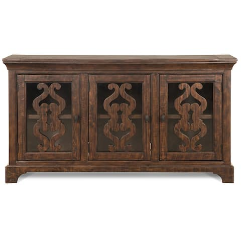 St. Claire Traditional Server in Rustic Pine