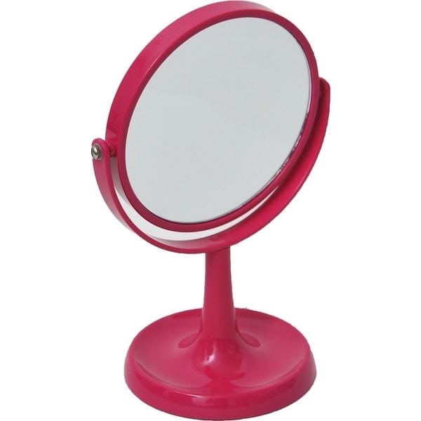 Magnifying DualSided Vanity Mirror Countertop Jewelry Organizer