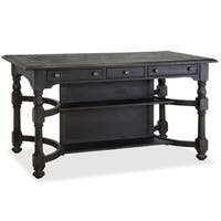 Bedford Corners Rectangular Counter Height Table in Anvil Black