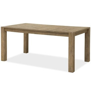 Griffith Rectangular Dining Table in Rustic Weathered Toffee