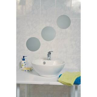 Evideco Decorative Wall Bathroom Self Adhesive Mirrors (Set of 3)|https://ak1.ostkcdn.com/images/products/17630012/P23844665.jpg?impolicy=medium