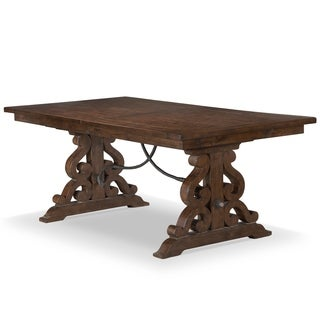 St. Claire Rectangular Dining Table In Rustic Pine
