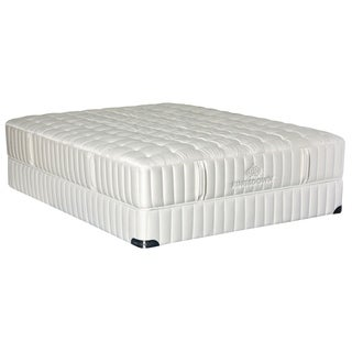 Kingsdown Vintage Synchrony 13-inch Queen Cushion Firm Luxury Mattress Set with Split Boxes