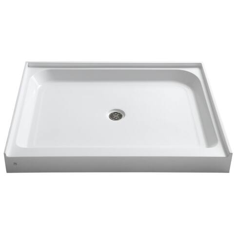 Reach 36 x 48 in. Single Threshold Shower Base in White