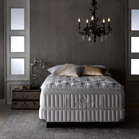 Kingsdown Vintage Interfusion 17-inch Pillow Top Luxury Mattress Set