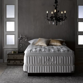 Kingsdown Vintage Interfusion 17-inch California King Pillow Top Luxury Mattress Set