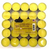 Citronella Tealights, 50 Pack
