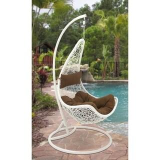 Studio 350 Metal PE Rattan Pod Chair 32 inches wide, 76