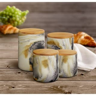Marble Tortoise 4 PC Canister Set https://ak1.ostkcdn.com/images/products/17630215/P23844838.jpg?impolicy=medium