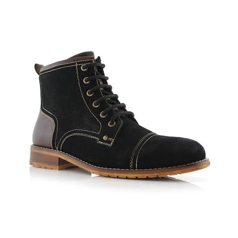 1bb60f944 Ferro Aldo Rufus MFA806032 Men's Ankle Boots For Work or Casual Wear