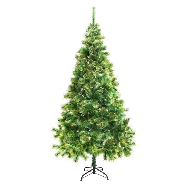 Home Depot Real Christmas Tree Prices: Shop ALEKO Artificial Holiday 8 Feet Christmas Pine Tree