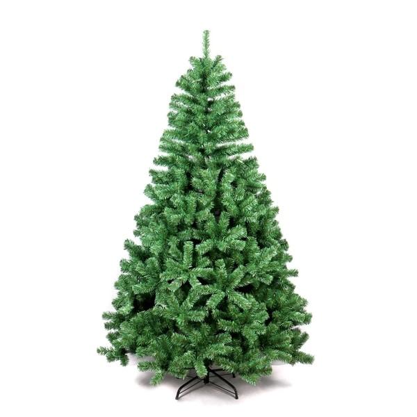 Artificial Christmas Tree Sale Home Depot: Shop ALEKO Indoor Artificial 6 Feet Christmas Tree Holiday
