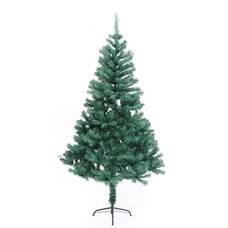 ALEKO Indoor Artificial 6 Feet Christmas Tree Holiday Pine Tree
