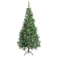 ALEKO Indoor Artificial 9 Feet Christmas Tree  Holiday Pine Tree