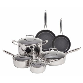 MAKER 10-piece Stainless Steel Cookware Set