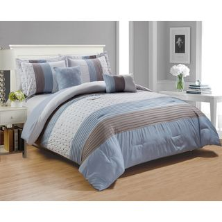 RT Designers Collection Westfield Embroidered 5-Piece Comforter Set