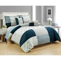 RT Designers Collection Hanover Embroidered 5-Piece Comforter Set, King