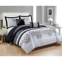 RT Designers Collection Montclair Embroidered 5-Piece Comforter Set