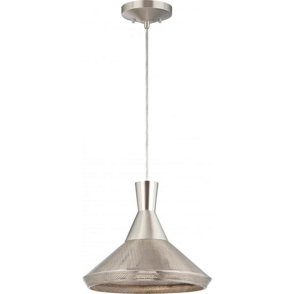 Luger 1 Light Metal Shade Pendant
