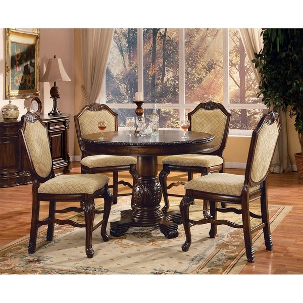 Chateau 5-PCs Counter Height Dining Set