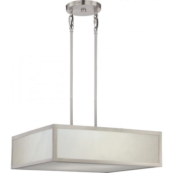 Crate 2 Light LED Pendant